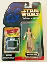 Star Wars Power of the Force POTF2 Freeze Frame Collection 1 Princess Leia .01