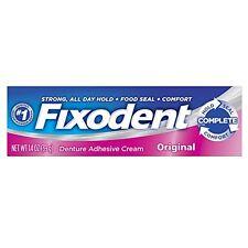 Fixodent Denture Adhesive Cream Original 1.40 oz Each