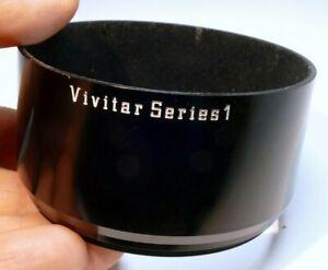 Vivitar series 1 72mm Lens Hood metal screw in type threaded Metal sturdy