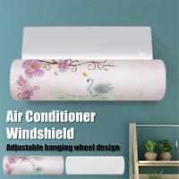 Anti Direct Blowing Retractable Air Conditioner Wind Shield Deflector Baffle