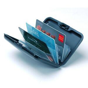 Aluminum Wallet Credit Card Holder RFID Protection Light Durable Safe & Stylish