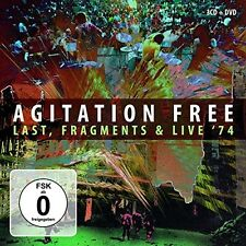 Agitation Free - Last Fragments & Live '74 [New CD] With DVD