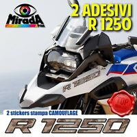 ADESIVI STICKERS AUTOCOLLANT PER BMW GS R 1250 CAMOUFLAGE 3 ADVENTURE MOTO RALLY
