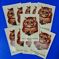 10 NEW Cat Postcards, I've Caught the Knitting Craze, Great for Postcrossing