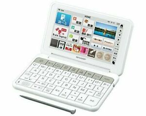 Sharp Color Electronic dictionary Brain life and culture white PW-SA4-W Japan