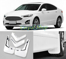 White Splash Guards Mud Flaps Mud Guards Fender For 2019-2021 Ford Fusion Mondeo
