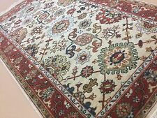 """Persian Oriental Area Rug Serapi Hand Knotted Wool Beige Rust 3'.0"""" X 5'.0"""""""
