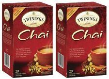 Twinings Of London Chai Tea 2 Box Pack