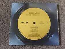SIMPLE MINDS DANCING BAREFOOT EP CD SINGLE LOVE WILL TEAR US APART BEING BOILED