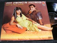 Sexy Cleopatra Cover Comedy Lp JOSE JIMENEZ IN JOLLYWOOD Bill Dana KAPP 1963