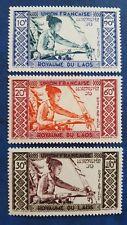 LAOS CLASSIC  STAMPS  1952 MINR 18/20 MNH