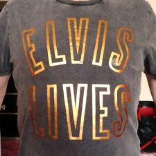 "King ELVIS Presley ""ELVIS LIVES"" Iridescent EPE Aeropostale 3-D Tee-Shirt ROCKS!"
