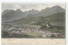 SUISSE , SWISS , CHATEAU D' OEX