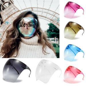 OVERSIZED FULL FACE Polarized Large MIRROR Sunglasses Huge Big MASK