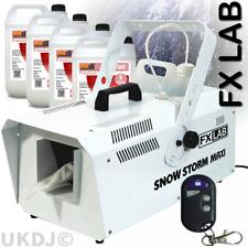 FXLab 1200w High Output Snow Machine Artificial Snowflake inc Remote & 20L Fluid
