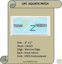 VEL-KRO LIFE AQUATIC TEAM ZISSOU BLUE PATCH - LAQ15