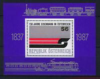 AUSTRIA 1987  MNH SC.1399 Austrian Railways 150th