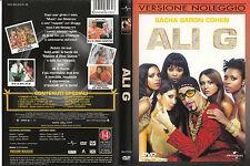 Ali G (2002) DVD - EX NOLEGGIO