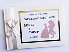 DISNEY BEAUTY AND THE BEAST PERSONALISED WEDDING GUEST BOOK