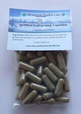 50 Olive Leaf Capsules Antioxidant 500 mg