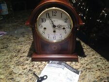 howard miller mantle clock barrister westminster chime 613-180