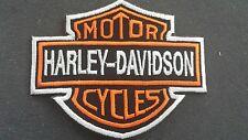 Harley Davidson Emblem Aufnäher/ Patch/ Aufbügler 6,5cm x 7,5cm