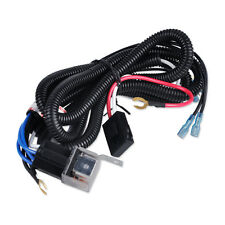 12V Horn Wiring Harness Relay Kit Fit for Car Auto Truck Grille Mount Blast Tone