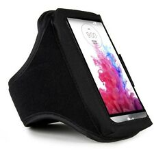 Black Sport Gym Armband for LG G4/G3/LG Optimus G Pro/LG Nexus 5/iPhone 6 Plus