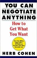 You Can Negotiate Anything Paperback Herb Cohen