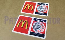 F.A. charity shiled mcdonald's soccer patch/badge 2007-2009