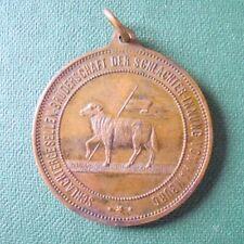 Medaille der Schlachtergesellen - Schlachter-Innung von Hamburg 1891
