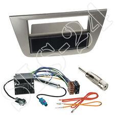 Seat Altea Toledo 2-DIN Blende+Fach anthrazit+Quadlock Adapter Antenne Einbauset