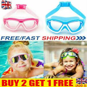 Kids Anti-Fog Swimming Goggles Pool Swim Glasses For Children Boys Girls Swim UK