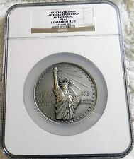 1976 SILVER (8.3 ozs) NGC MS 67 American Revolution  BICENTENNIAL MEDAL **L@@K**