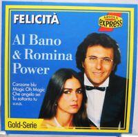 Al Bano & Romina Power + CD + Felicitá + Gold Serie Italo Songs Special Edition