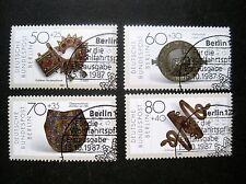 Berlin  MiNr. 789-792 ersttag Berlin gestempelt (W 707)
