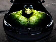 Full Color Vinyl Car Hood Graphics Sticker The Incredible Hulk Avengers Decal