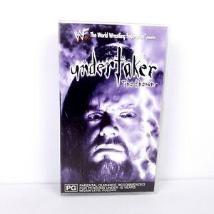 WWF Undertaker The Phenom- VHS Video - FREE POST
