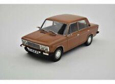Lada 2106 1976 red/brown interior 1:18 Triple9