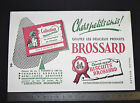 BUVARD 1950 BISCUITS BROSSARD ST JEAN D'ANGELY COLLECTION MINIATURE CONTES