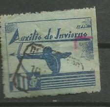 Espagne Soulagement de la Hiver Galvez # 8 (o)