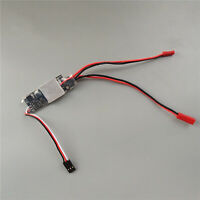 20A Two-way Brushed ESC 2S-3S Lipo Speed Control for 380/390 Motor DIY Car Boat