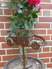 VW Käfer BEETLE Gartenstecker Rost