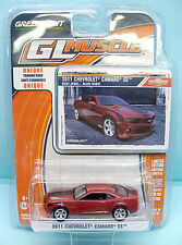 CH15/187 GREENLIGHT / GL MUSCLE / CHEVROLET CAMARO SS 2011 ROUGE 1/64