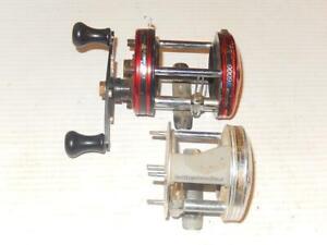 Abu Garcia Ambassadeur 6000 and 5500C3 Bait-Cast Reels for Parts