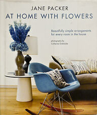 NEW Jane Packer at Home with Flowers by Jane Packer Hardcover Book (English) Fre