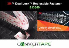 3M™ SJ3540 Dual Lock™ 25mm x 25mm Heavy Duty Recloseable VHB Fastener Qty8
