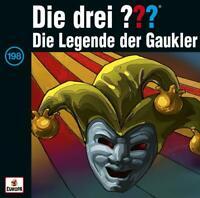 DIE DREI ??? - 198/DIE LEGENDE DER GAUKLER  2 VINYL LP NEU