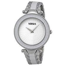 Versus by Versace Women's 3C72300000 Sertie White Dial SS Bracelet Watch