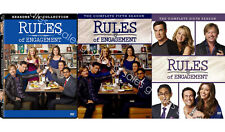 Rules of Engagement TV Series Complete Season 1-6 (1 2 3 4 5 6) NEW DVD SET